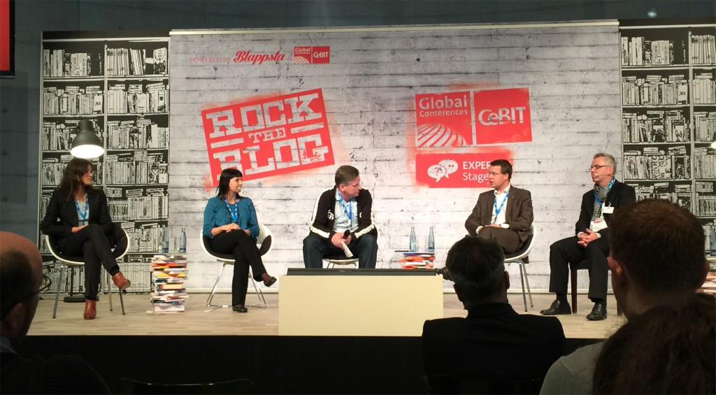 Rock the Blog CeBit 2015 Expert Stage