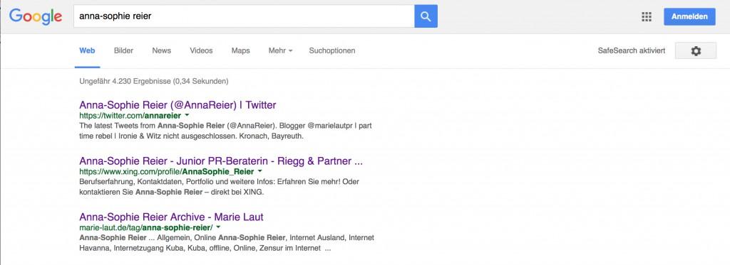 Sich selbst googlen findest du selbstverliebt? Es ist der erste Schritt zu einem guten digitalen Profil.